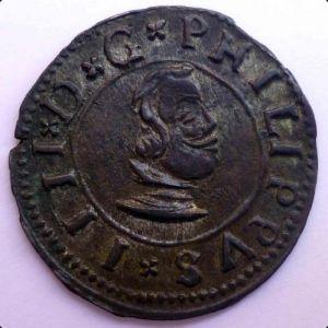 16 maravedis 1664 Valladolid - Felipe IV 838653665