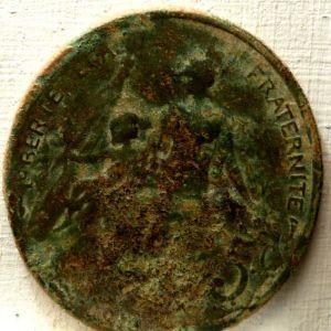 Francia, 5 Céntimos, 1898-1921 841427569
