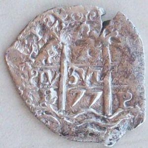 1 Real de Carlos II (Potosí, 1677) 855103951