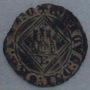 Blanca del rombo de Enrique IV (Burgos, 1471) 856359551