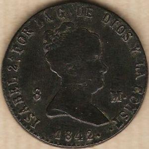 isabel II 8 m 1842 segovia 861214457