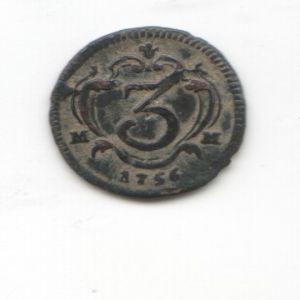 3 Cavalli de Carlos III  (Reino de Napoles, 1756) 872056947