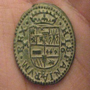 16 Maravedis de Felipe IV año 1663 ceca de Sevilla. 87652958