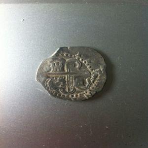 2 Reales de Felipe II, acuñado en Sevilla con valor de 2 reales 878506542