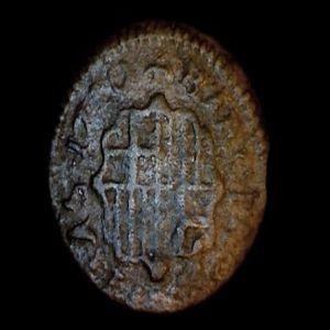 1 Dinero de Carlos III el Pretendiente 887147083