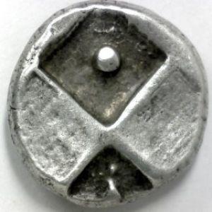 Hemidracma de Tracia-Cherronesos, acuñacion con punto. 917154883