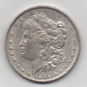 EUA, 1 dollar, 1896. 922141998