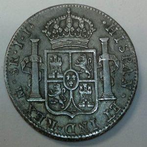 8 Reales 1821, Méjico. 945121472