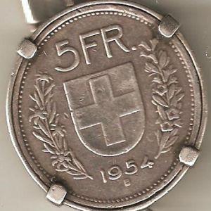 5 Francos suizos de 1954 946018832
