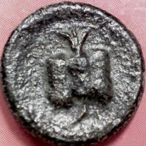 AE 16 de Side, Pamphylia 9657816