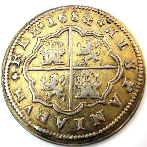"""8 reales de 1633 con """"hojas"""" 157752110"""