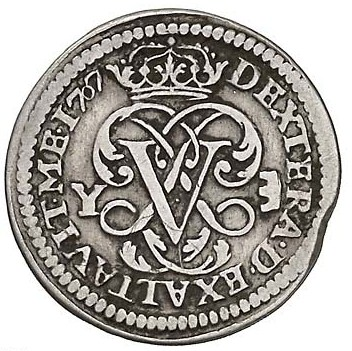 Seiseno de Felipe V, Valencia. 1710. 896211318