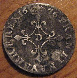 4 sueldos de Louis XIV, Francia 967901707