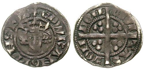 Medio penique de Edward I Longsanks SE1435