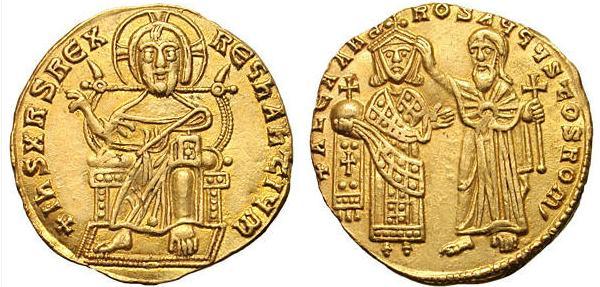 مسكوكات الامبراطور البيزنطي الكسندر  Sb1737