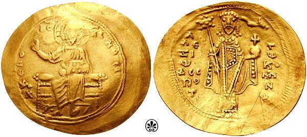 مسكوكات الامبراطور ألكسيوس الأول كومنينوس Sb1924.1