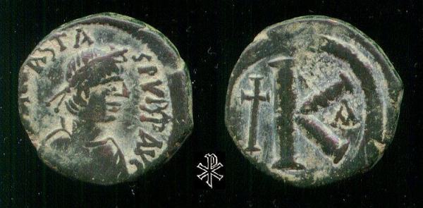 مسكوكات الامبراطور أناستاسيوس الأول Sb0025