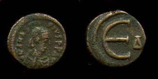 مادا تعني هده الاحرف E K I M على العملات البيزنطيه Sb0029.1