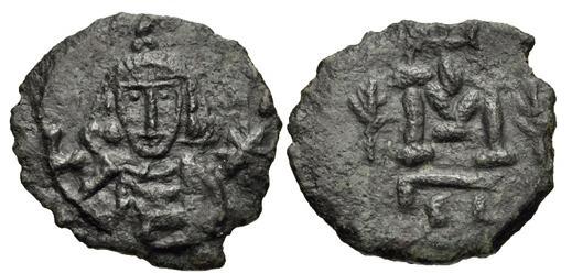 مسكوكات الامبراطور  أناستاسيوس الثاني Sb1474