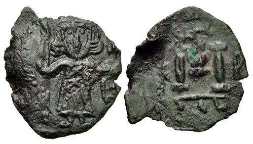 مسكوكات الامبراطور  أناستاسيوس الثاني Sb1475