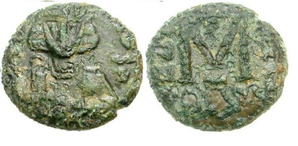 مسكوكات الامبراطور  أناستاسيوس الثاني Sb1486