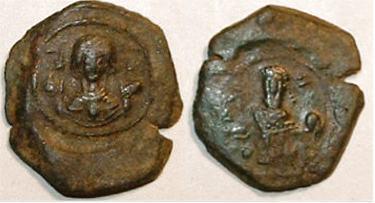 مسكوكات الامبراطور أندرونيكوس الأول كومنينوس Sb1989