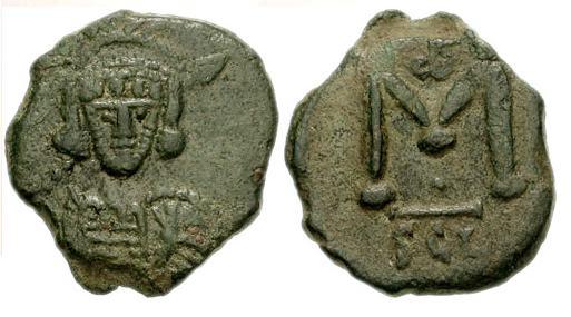 40 nummi de Constantino IV Sb1210