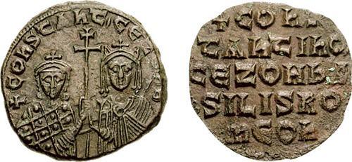 Follis bizantino de Constantino VII Sb1758_2