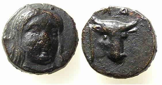 AE 10 de Larissa Phrikonis , Aeolis Weber_5563