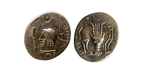 مسكوكات مملكة حميّر او مملكة سبأ  SNGANS_1554.1