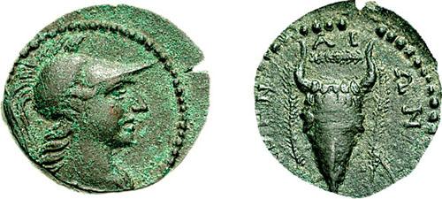 مسكوكات الملكه أثينا  SNGCop_376.2