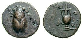 مسكوكات الملكه أثينا  SNGCop_449