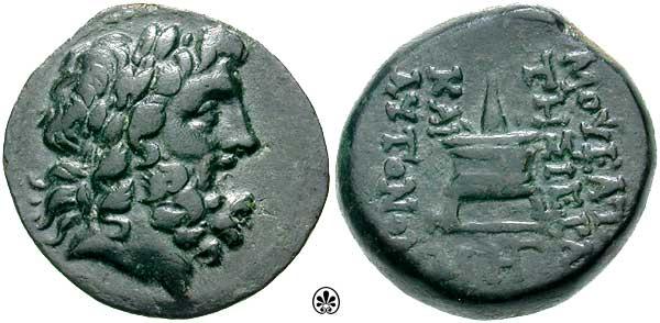 AE 20 de Mopsos, Cilicia SNGLev_1309.1