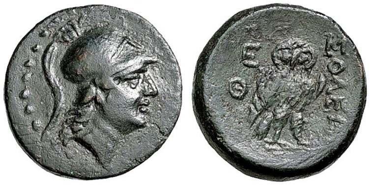 AE 18 de Soloi, Cilicia SNGLev_864