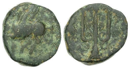 AE12 de Corinto (Pegaso y tridente). BCD_0253