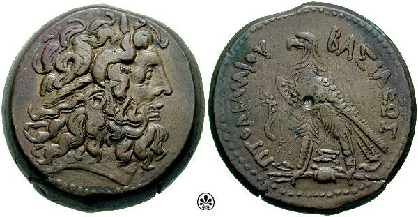 مسكوكات الملك بطليموس الرابع  Svoronos_0993.4