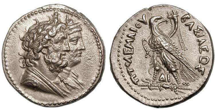 مسكوكات الملك بطليموس الرابع  Svoronos_1124.1