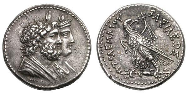 مسكوكات الملك بطليموس الرابع  Svoronos_1124