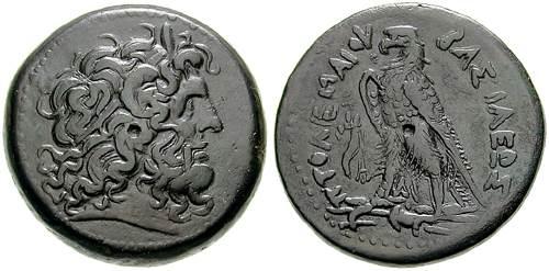 مسكوكات الملك بطليموس الرابع  Svoronos_1125