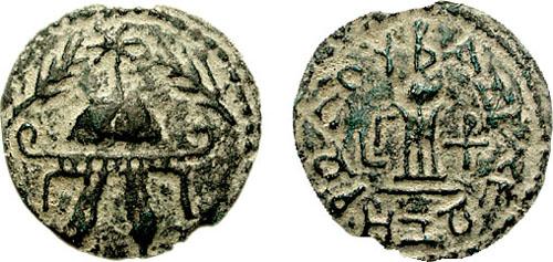 مسكوكات الملك هيرودس الاول Hendin_486.12