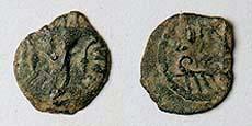 مسكوكات الملك هيرودس أرخيلاوس Hendin_504.2