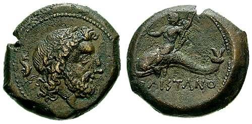 AE20 de Lucania, Paestum. SNGANS_722