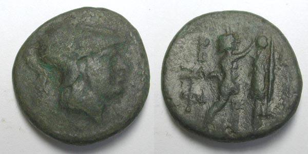 Bronze du Royaume macédonien pour Antigone Gonatas ... SNGCop_1209
