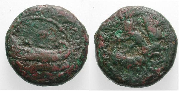 AE 11 de Sidón, Fenicia BMC_046