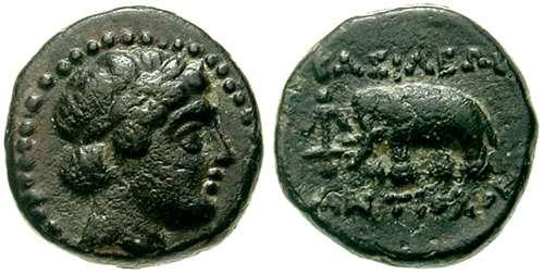 AE 11 seleucida de Antioco III El Grande SC_0979