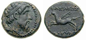 AE 16 seleúcida de Seleuko II Newell_1167