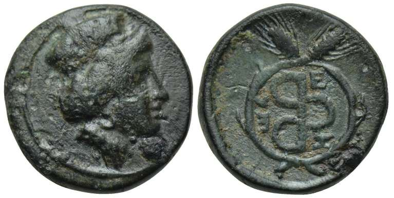 AE 11 de Zeleia, Troas (Dedicada al maestro el gitano)  SNGCop_503