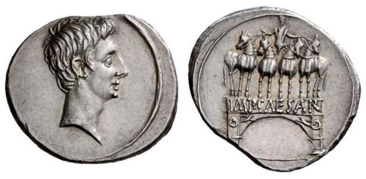 مسكوكات الامبراطور والقيصر اغسطس  RIC_0267