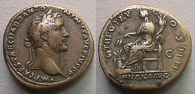 مسكوكات الامبراطور أنطونيوس بيوس RIC_0891