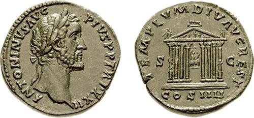 مسكوكات الامبراطور أنطونيوس بيوس RIC_1004